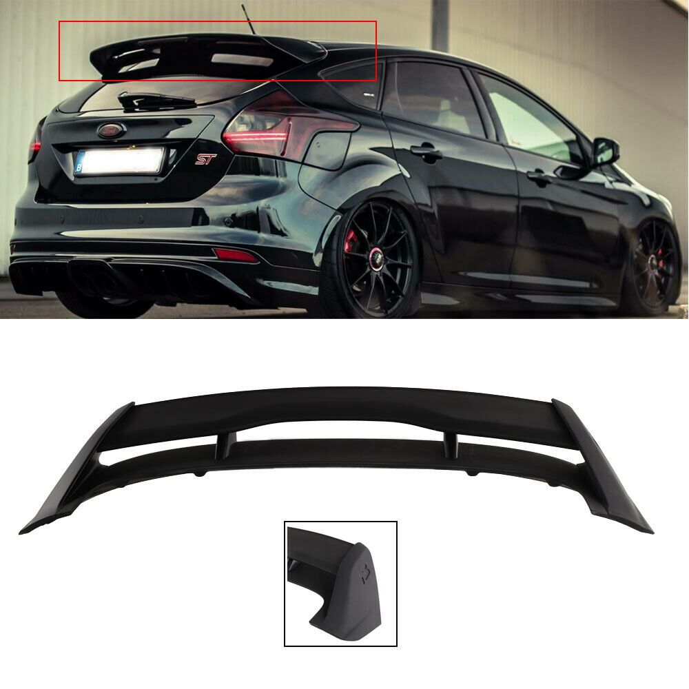 Mustang style Carbon Fiber Rear Wing Spoiler For Ford Fusion Mondeo 2013-2018