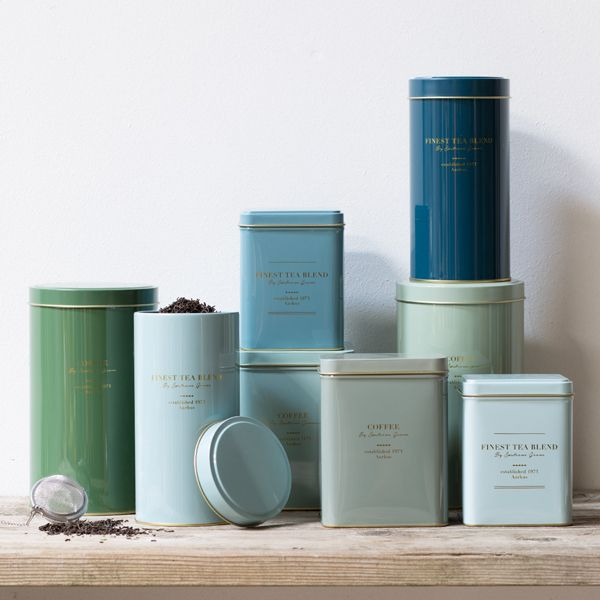 Tea And Coffee Tins Prices From DKK 1660 EUR 233 ISK 419 NOK 2290 GBP 224 SEK 2280