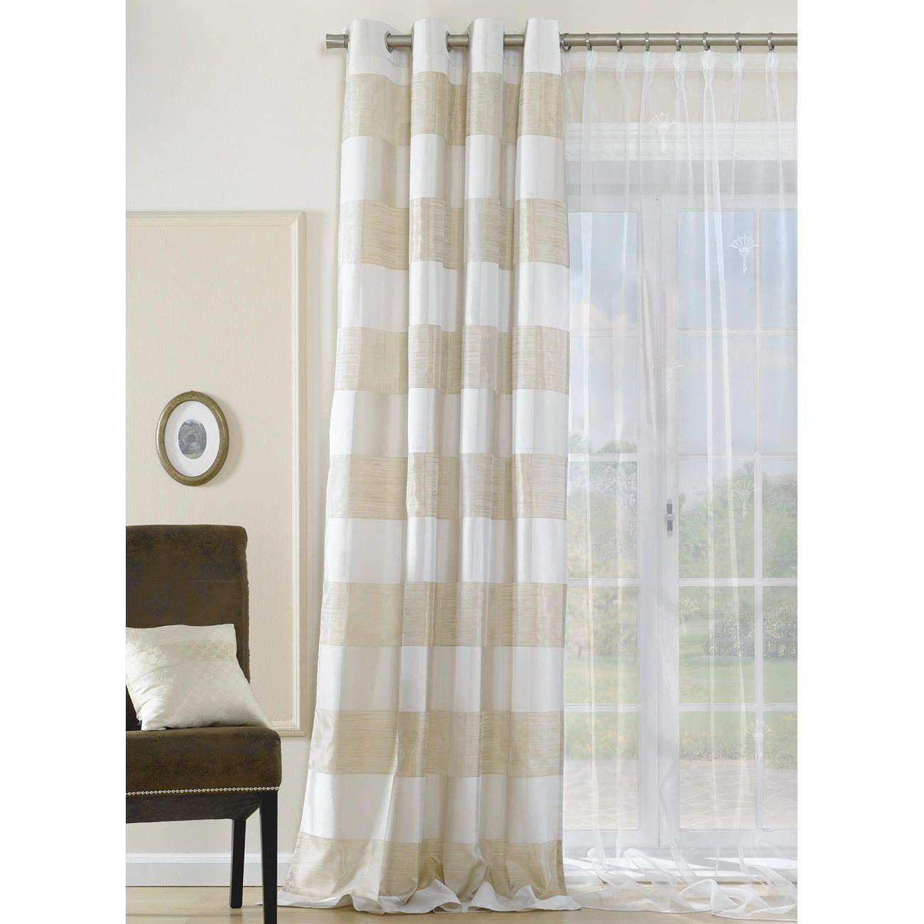 vorhang carmaux 1 vorhang 4 garne 4 webarten 3d wirkung von joop curtains pinterest. Black Bedroom Furniture Sets. Home Design Ideas