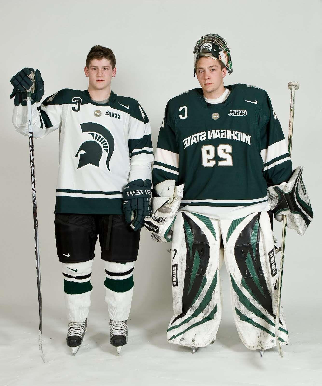 Awesome Michigan State Hockey Apparel Hockey Clothes Hockey Uniforms Team Sportswear