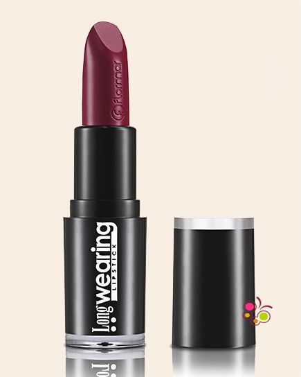 Flormar Long Wearing Lipstick Ruj L038 Red Burgundy Rujlar Long