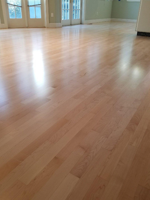 Maple Refinish Oakland Water Base Bona Traffic Maple Floors Hardwood Floors Flooring
