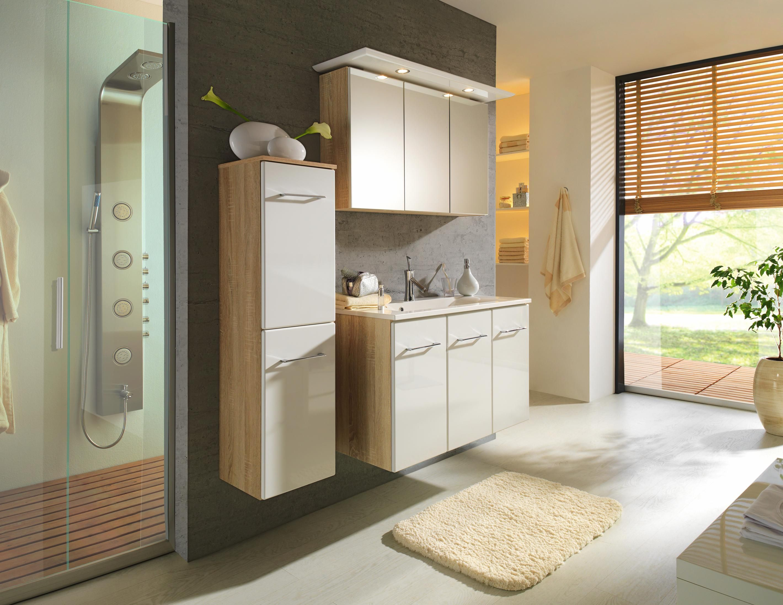 Ihr Neues Badezimmer Spiegelschrank Und Waschbeckenunterschrank Im