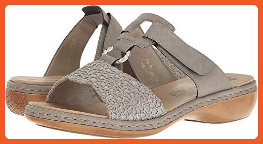 Most Comfortable Shoes Rieker Womens Tropicana Beige Strap