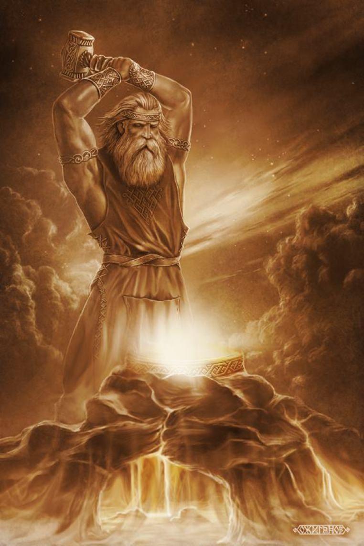 Slavic myths and legends. Sun God in Slavic Myths 75