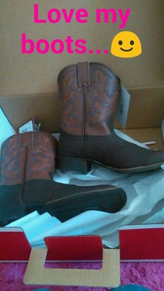 My boots...