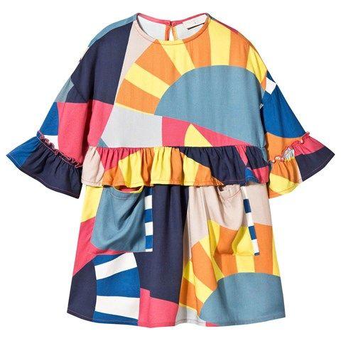 bf8ca6818 Stella McCartney Kids Vivienne Multi Pattern Dress | AlexandAlexa ...