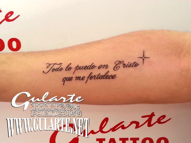 Resultado De Imagen Para Tatuajes Cristianos Frases En Espanol