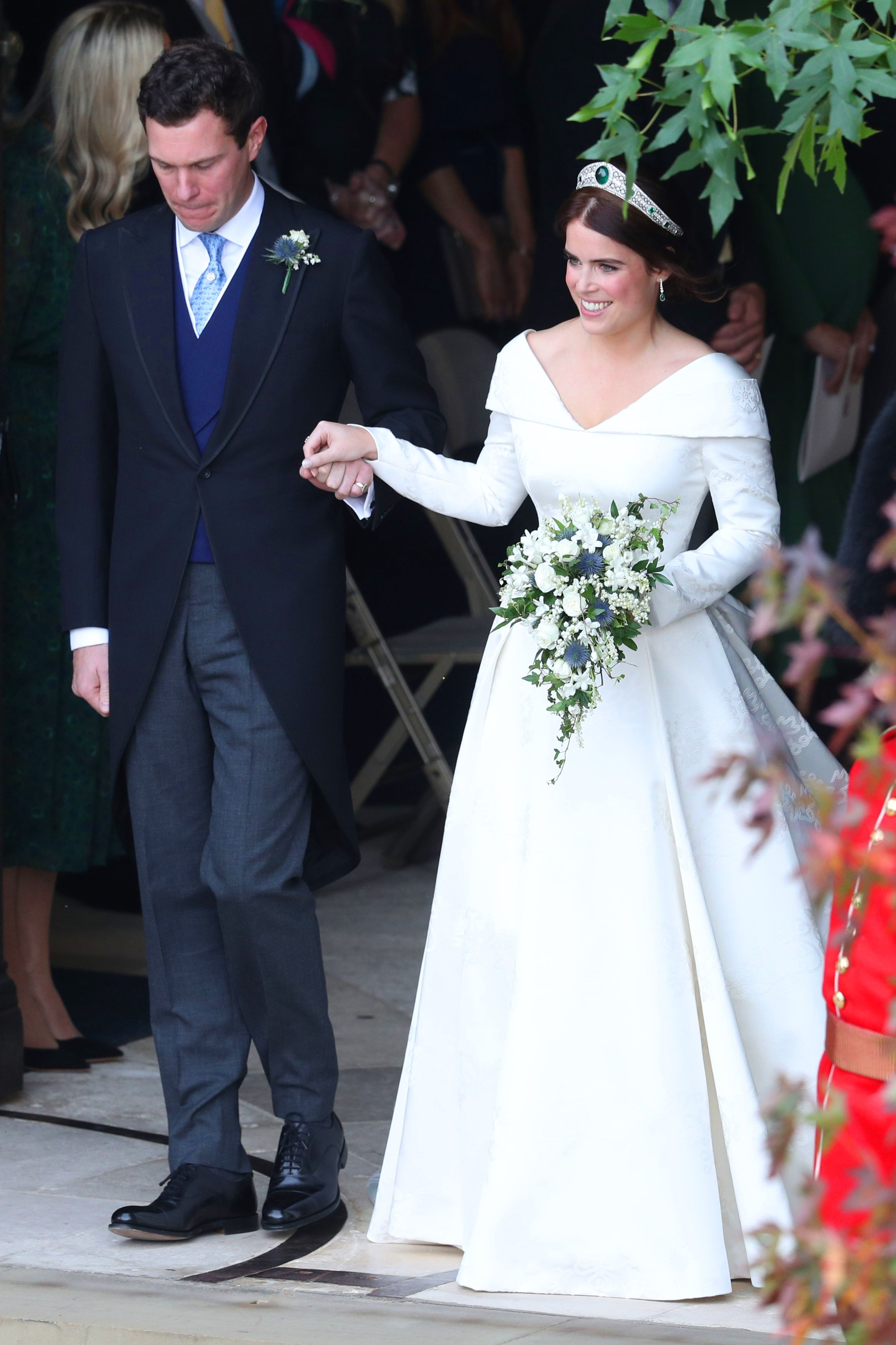 See Every Photo From Princess Eugenie And Jack Brooksbank S Royal Wedding Eugenie Wedding Royal Wedding Dress Princess Wedding [ 3500 x 2333 Pixel ]