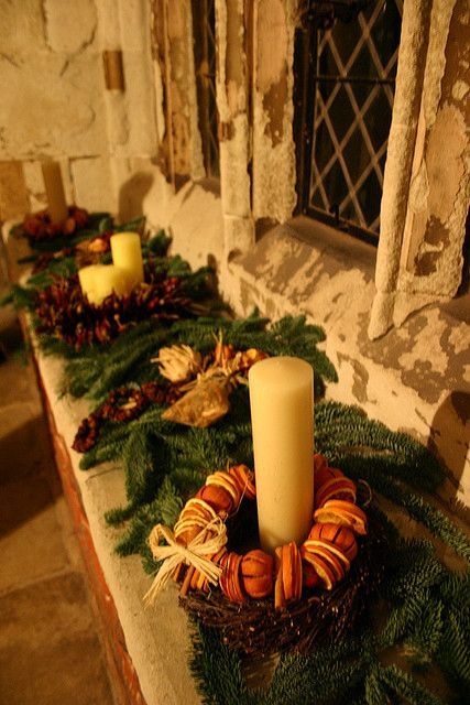 Tudor christmas decorations decoration medieval and yule
