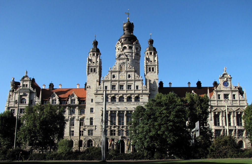 New Townhall In Leipzig Neues Rathaus Germany By Geotsak By Geotsak Ferry Building San Francisco Leipzig San Francisco Ferry