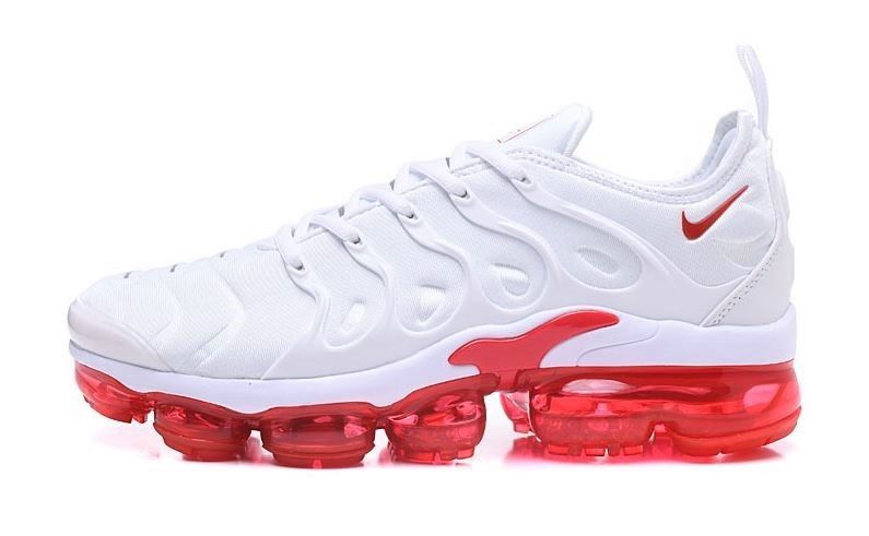 bab6f3992f4b Men s Nike VaporMax Plus Red and White size 8  fashion  clothing  shoes   accessories  mensshoes  athleticshoes
