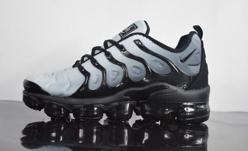 promo code f1abc e6cd6 2018 New Nike Air Vapormax Plus Black Volt White Asphaltgold Shoe