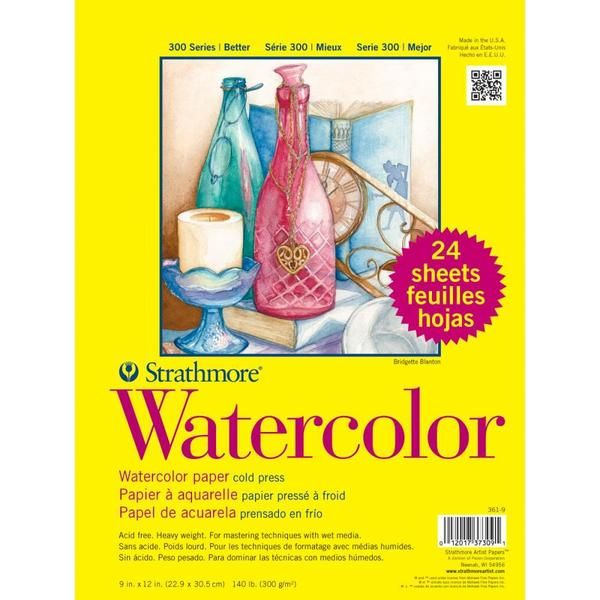Strathmore Watercolor Paper 9x12 Watercolor Paper Watercolor