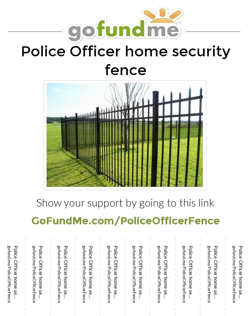 Fence needed for law enforcement family to get a dog to feel more secure. please help