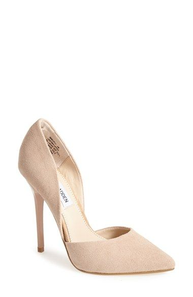 d01cf656c68 Steve Madden 'Varcityy' Suede Pointy Toe Pump (Women) available at ...