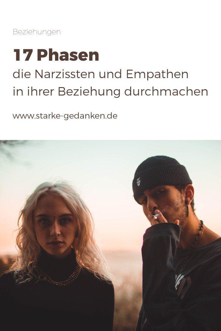 Narzissten und Empathen in einer Beziehung: Phasen, die