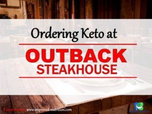 Best low-carb options at outback steakhouse