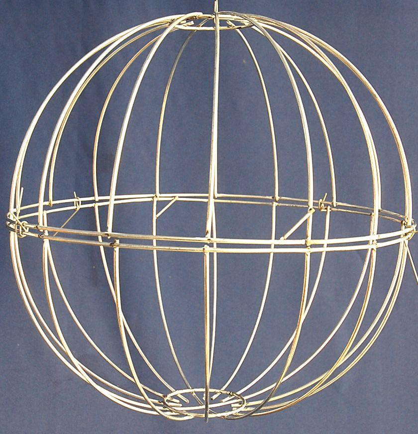 Wire Sphere Globe 14 All