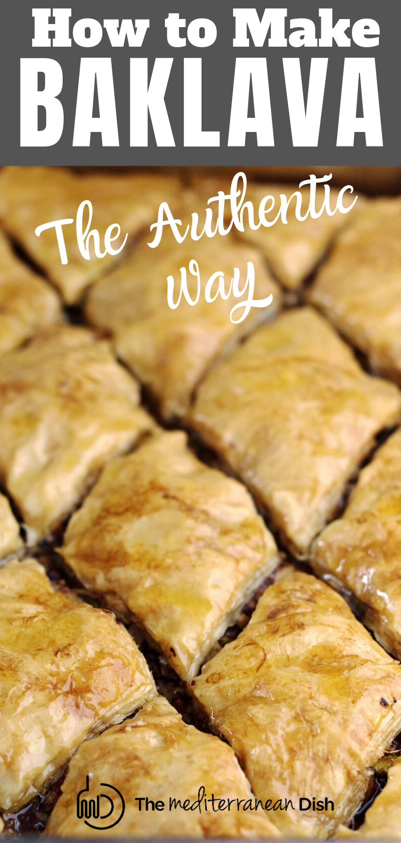 Can't get enough of your local Greek restaurant's baklava? This tutorial is all you need to make the BEST perfectly flaky baklava with a delicious nut mixture nestled right in. And the homemade syrup is to die-for! Recipe comes with video, go check it out today!