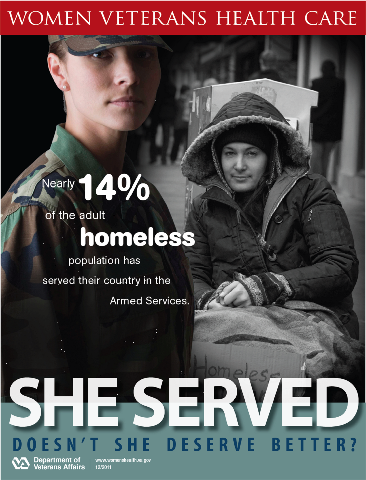 homeless military veterans essay Emotional appeal - the va estimates that in 1989 nearly 200,000 veterans were homeless on any given night and nearly 400,000 experience homelessness over the course of a year microsoft word - persuasive speech outlinedoc author.