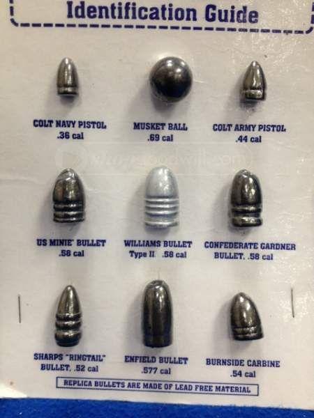 Old lead bullet identification