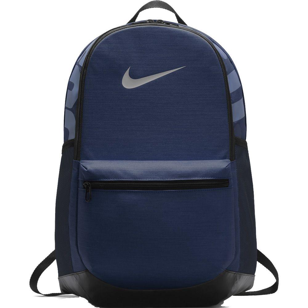 73dedf089 Nike Brasilian Backpack Bag Navy Soccer Football Fitness Gym Swoosh  BA5329-410 #Nike #Backpack