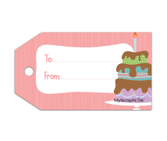Download this birthday cake gift tag and other free printables from download this birthday cake gift tag and other free printables from myscrapnook negle Images
