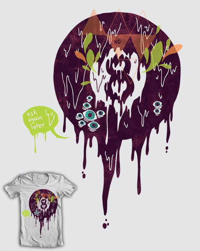 melting 8 ball wth mansillagraphic illustrationart illustrationst shirt designsart printsbadpoolartsytextiles