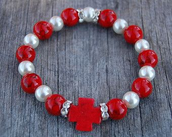 coral cross – Etsy
