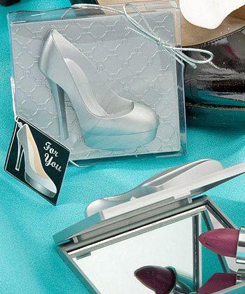 Shoe Favors Bridal Shower Favor Bachelorette Party Favor Birthday Favor Mirror Favor on Etsy, $2.25