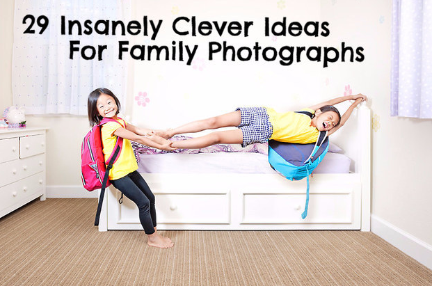 29 adorable photography ideas every family should try
