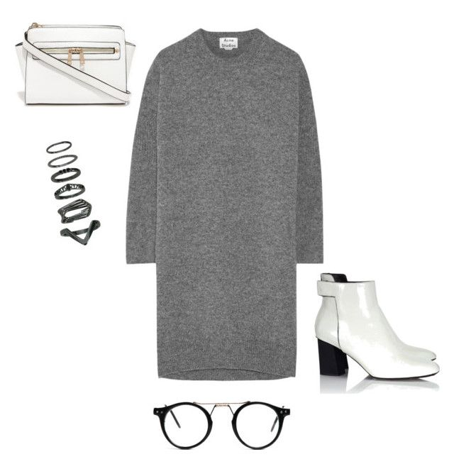 """""""less is more 5"""" by dudafank ❤ liked on Polyvore featuring Acne Studios and Proenza Schouler"""