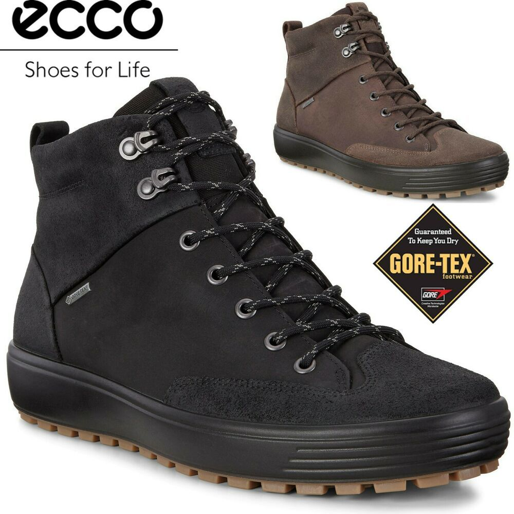 Ecco Men S Exostrike Sneakers Men Fashion Mens Leather Boots Boots