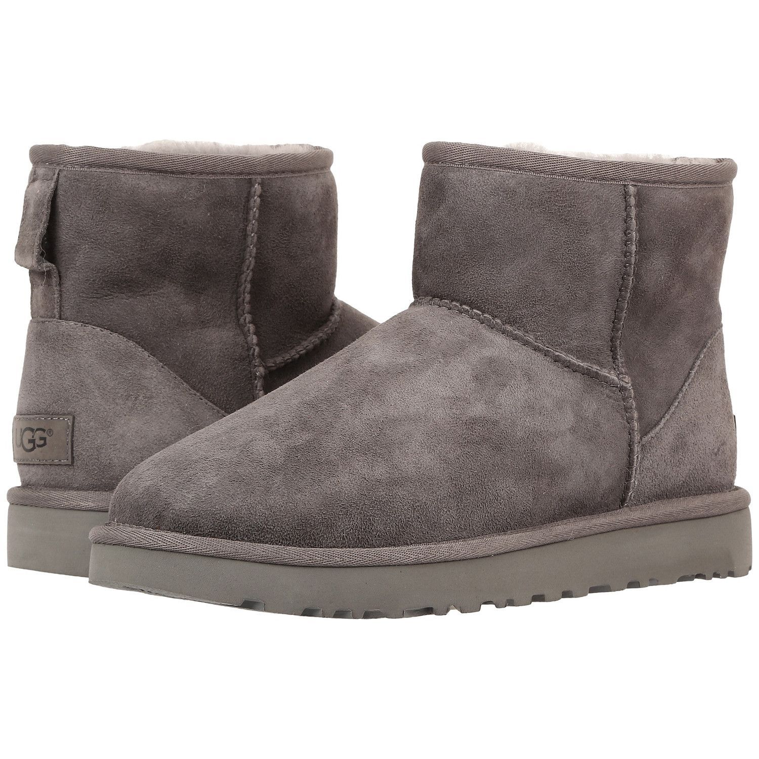 8e9aae50c43 UGG Classic Mini II Women | Grey (1016222) | Uggs | Ugg mini boots ...