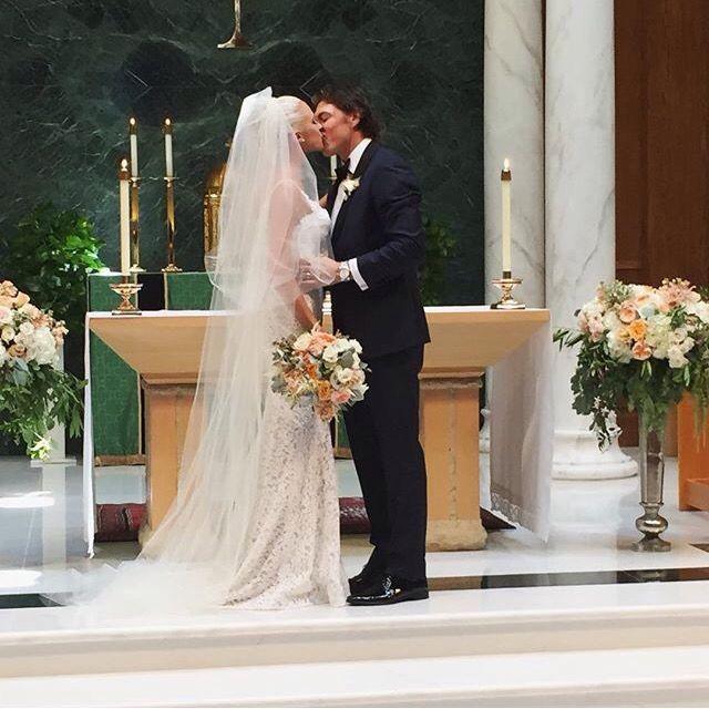 Lauren & tj Oshie | Wedding | Lace weddings, Wedding dresses, Wife
