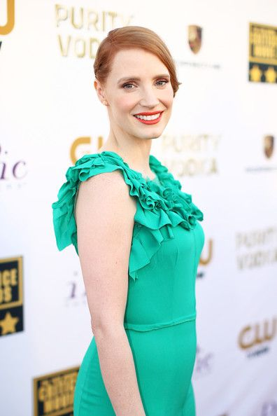 Jessica Chastain - Arrivals at the Critics' Choice Awards