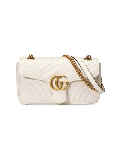 37f2922e4c4 Gucci GG Marmont Small Matelassé Shoulder Bag in 2019