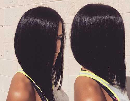 Hair Styles, Reverse Bob