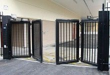 Accordion Gate Google Search Front Gate Design Gate Design Door Gate Design