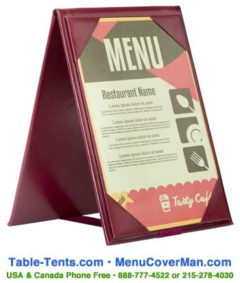 Restaurant Table Tents  sc 1 st  Pinterest & Restaurant Table Tents | Menucoverman.com | Pinterest ...