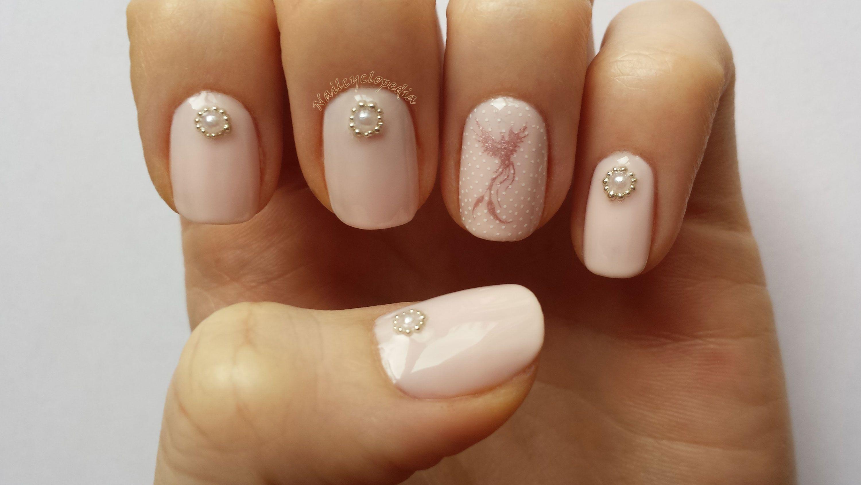 Pink Jewel Nail Art!   Nail Art   Pinterest   Jewel nails
