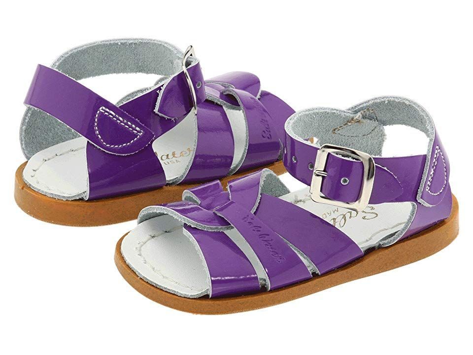 6eba7db3081 Salt Water Sandal by Hoy Shoes The Original Sandal (Infant Toddler) Girls  Shoes Shiny Purple
