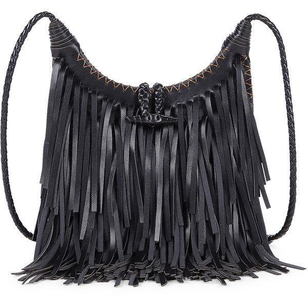 Sole Society Tayler Layered Fringe Crossbody 54 Liked On Polyvore Featuring Bags