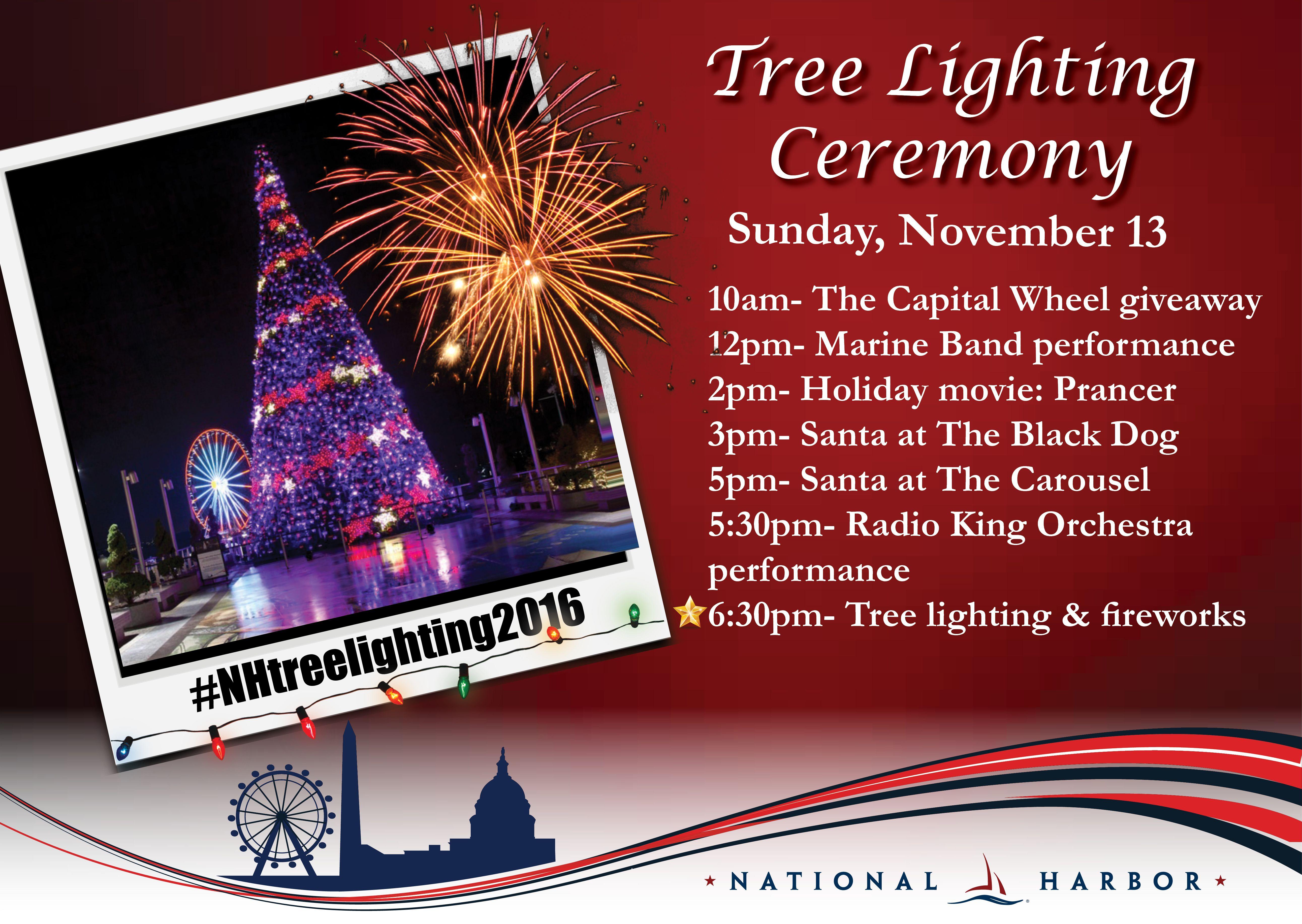 12pm - Tree Lighting Ceremony - National Harbor Z & 12pm - Tree Lighting Ceremony - National Harbor Z   Travel - Where I ...