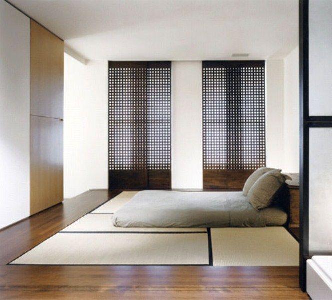 surprising japanese bedroom decorating ideas | Tatami mats Japanese bedroom idea. טאטמי בגובה הריצפה בחדר ...