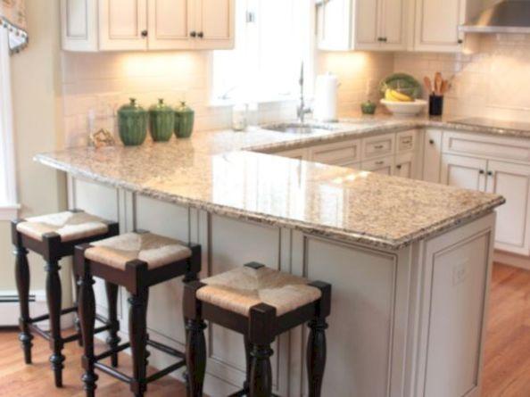 9 Fascinating Ideas for Practical U-shaped Kitchen Island design