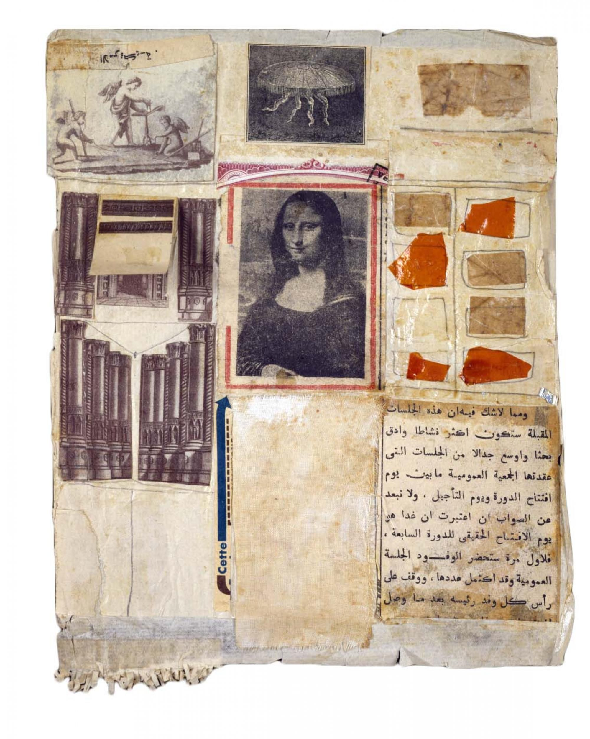 Untitled [Mona Lisa] | Robert Rauschenberg Foundation