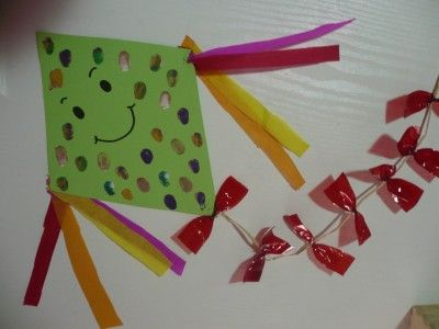 Happy Fun Kite Preschool Art Funfamilycrafts