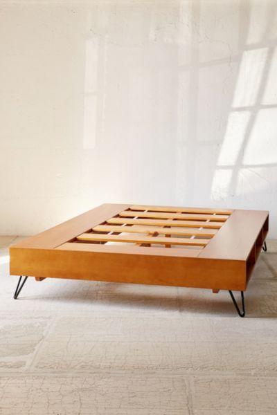 border storage platform bed bedroom vanities pinterest betten zimmer wien und bett. Black Bedroom Furniture Sets. Home Design Ideas